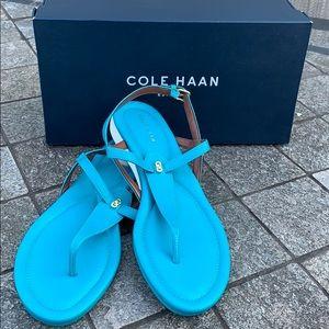 Cole Haan sandals never worn size 9.5